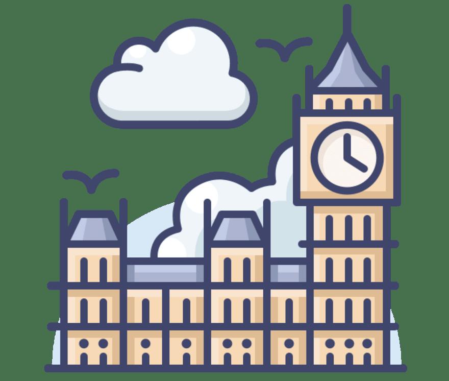 18 คาสิโนสด ที่ดีที่สุดใน สหราชอาณาจักร 2021
